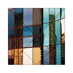 Glass Facade Colorful Architecture Acrylic Tangram Puzzle (6  X 6 )