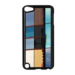 Glass Facade Colorful Architecture Apple Ipod Touch 5 Case (black)