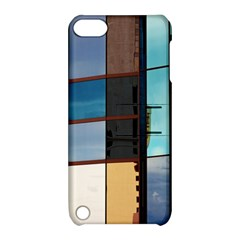 Glass Facade Colorful Architecture Apple iPod Touch 5 Hardshell Case with Stand