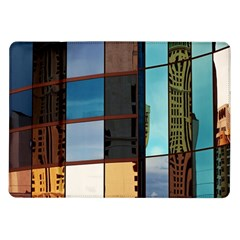 Glass Facade Colorful Architecture Samsung Galaxy Tab 10.1  P7500 Flip Case