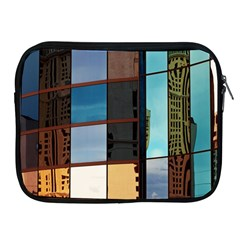 Glass Facade Colorful Architecture Apple Ipad 2/3/4 Zipper Cases