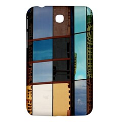 Glass Facade Colorful Architecture Samsung Galaxy Tab 3 (7 ) P3200 Hardshell Case