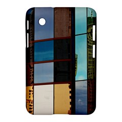 Glass Facade Colorful Architecture Samsung Galaxy Tab 2 (7 ) P3100 Hardshell Case