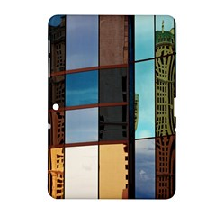 Glass Facade Colorful Architecture Samsung Galaxy Tab 2 (10.1 ) P5100 Hardshell Case