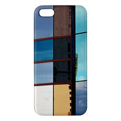 Glass Facade Colorful Architecture Iphone 5s/ Se Premium Hardshell Case