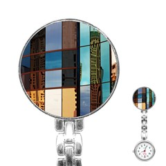 Glass Facade Colorful Architecture Stainless Steel Nurses Watch