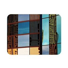 Glass Facade Colorful Architecture Double Sided Flano Blanket (Mini)