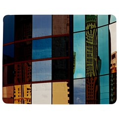 Glass Facade Colorful Architecture Jigsaw Puzzle Photo Stand (Rectangular)