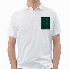 Golf Golfer Background Silhouette Golf Shirts