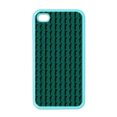 Golf Golfer Background Silhouette Apple iPhone 4 Case (Color)