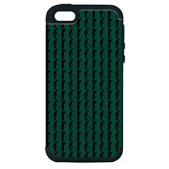 Golf Golfer Background Silhouette Apple iPhone 5 Hardshell Case (PC+Silicone)