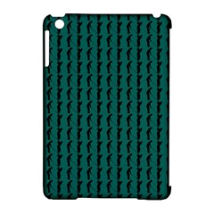 Golf Golfer Background Silhouette Apple Ipad Mini Hardshell Case (compatible With Smart Cover)