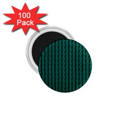 Golf Golfer Background Silhouette 1 75  Magnets (100 Pack)