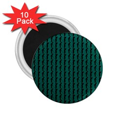 Golf Golfer Background Silhouette 2.25  Magnets (10 pack)