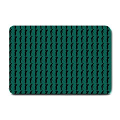 Golf Golfer Background Silhouette Small Doormat