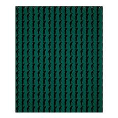 Golf Golfer Background Silhouette Shower Curtain 60  X 72  (medium)