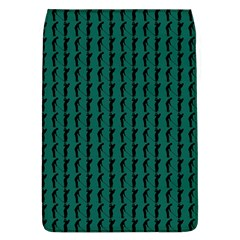 Golf Golfer Background Silhouette Flap Covers (l)