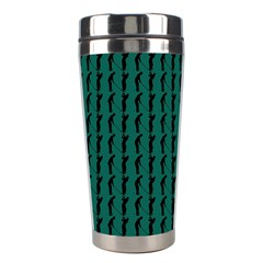 Golf Golfer Background Silhouette Stainless Steel Travel Tumblers