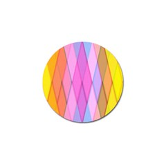 Graphics Colorful Color Wallpaper Golf Ball Marker (4 pack)