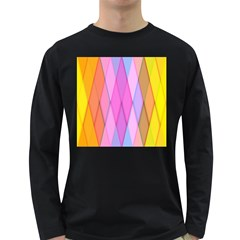 Graphics Colorful Color Wallpaper Long Sleeve Dark T Shirts