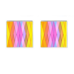 Graphics Colorful Color Wallpaper Cufflinks (square)