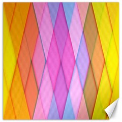 Graphics Colorful Color Wallpaper Canvas 16  x 16