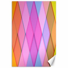 Graphics Colorful Color Wallpaper Canvas 24  x 36