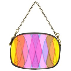 Graphics Colorful Color Wallpaper Chain Purses (One Side)