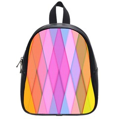 Graphics Colorful Color Wallpaper School Bags (Small)