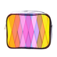 Graphics Colorful Color Wallpaper Mini Toiletries Bags