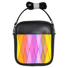 Graphics Colorful Color Wallpaper Girls Sling Bags