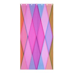 Graphics Colorful Color Wallpaper Shower Curtain 36  X 72  (stall)