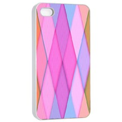Graphics Colorful Color Wallpaper Apple Iphone 4/4s Seamless Case (white)
