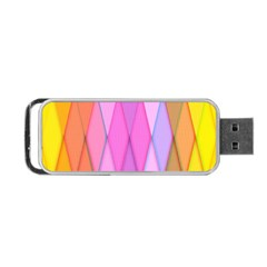 Graphics Colorful Color Wallpaper Portable USB Flash (One Side)