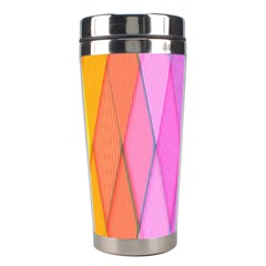 Graphics Colorful Color Wallpaper Stainless Steel Travel Tumblers