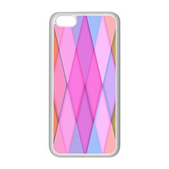 Graphics Colorful Color Wallpaper Apple iPhone 5C Seamless Case (White)