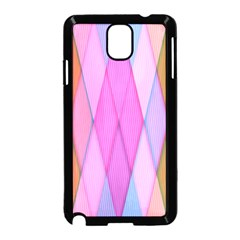 Graphics Colorful Color Wallpaper Samsung Galaxy Note 3 Neo Hardshell Case (Black)