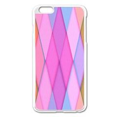 Graphics Colorful Color Wallpaper Apple iPhone 6 Plus/6S Plus Enamel White Case