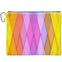 Graphics Colorful Color Wallpaper Canvas Cosmetic Bag (XXXL)