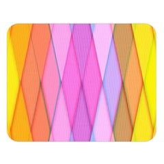 Graphics Colorful Color Wallpaper Double Sided Flano Blanket (Large)