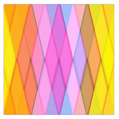 Graphics Colorful Color Wallpaper Large Satin Scarf (Square)