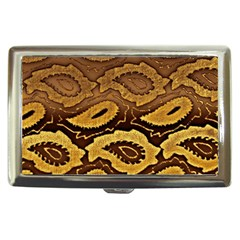 Golden Patterned Paper Cigarette Money Cases