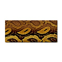 Golden Patterned Paper Cosmetic Storage Cases