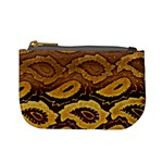 Golden Patterned Paper Mini Coin Purses Front