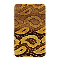 Golden Patterned Paper Memory Card Reader