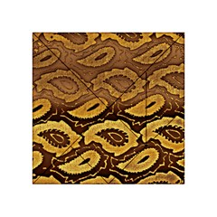 Golden Patterned Paper Acrylic Tangram Puzzle (4  X 4 )