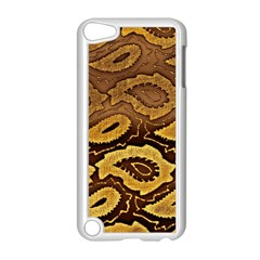Golden Patterned Paper Apple Ipod Touch 5 Case (white)
