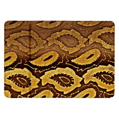 Golden Patterned Paper Samsung Galaxy Tab 8 9  P7300 Flip Case