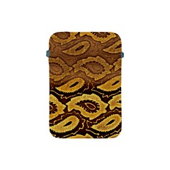 Golden Patterned Paper Apple Ipad Mini Protective Soft Cases