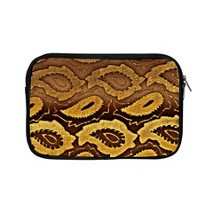 Golden Patterned Paper Apple iPad Mini Zipper Cases